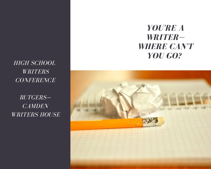 HS Writers Conference promo